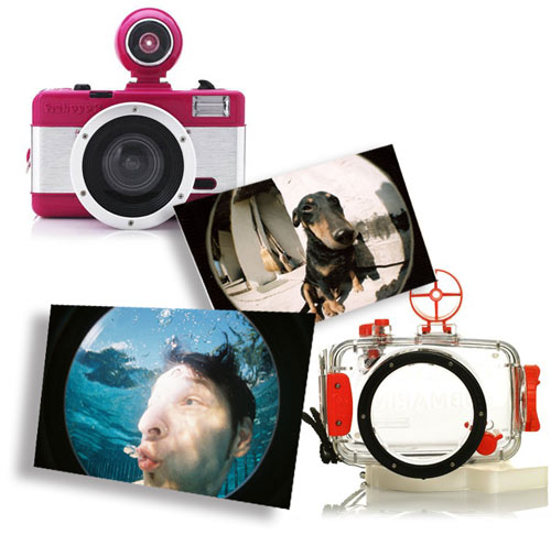 lomography fisheye pink samples